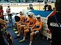 Men's team pursuit, the Netherlands before the start.jpg