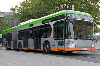 Üstra - James Irvine-designed Mercedes-Benz Citaro bus