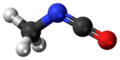 Methyl isocyanate 3D ball.png