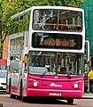 Metro (Belfast) bus 2906 (EEZ 2906) 2005 Volvo B7TL Alexander Dennis ALX400, 4 August 2009.jpg