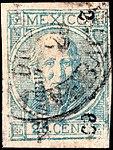 Mexico 1869 25c Sc61 Veracruz.jpg