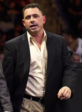 Michael Cole (wrestling) - Coulthard in 2010