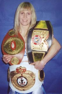 Michelle Sutcliffe British boxer