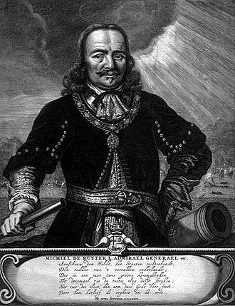 De Ruyter Medal - Michiel de Ruyter