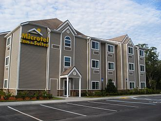 Microtel Inn and Suites - A prototype Microtel Inn and Suites located in Jacksonville, Florida.