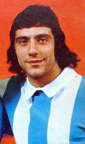 Miguel Ángel Brindisi - Brindisi at Boca Juniors in 1974