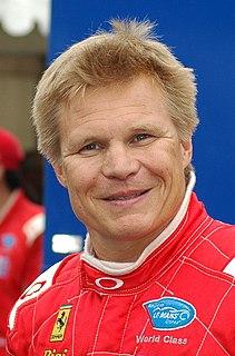 Mika Salo Finnish racecar driver