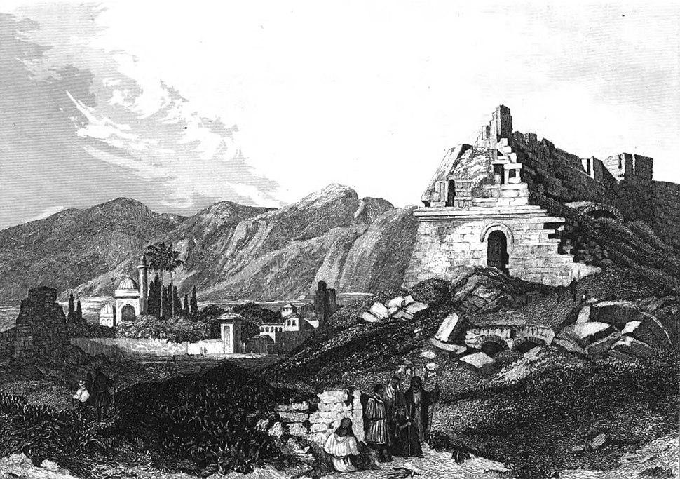 Miletus, Illustration for La Terre-Sainte et les lieux illustrés par les apôtres, by Adrien Egron, 1837 (39)