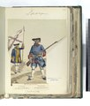 Milicias provinciales- (a) Alferez del regimiento de Niebla; (b) Fusilero del regimiento de Baza. 1710-1750 (NYPL b14896507-87527).tiff