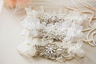 Garter (stockings) - Wedding Garter for the 21st Century Bride