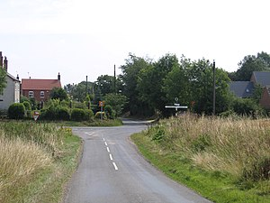 Pointon - Image: Millthorpe crossroads, Pointon, Lincs geograph.org.uk 215128