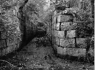 Millville, Massachusetts - Millville Lock, Blackstone Canal