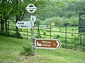 Milton Abbas, Directional Signposts - geograph.org.uk - 211745.jpg