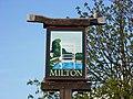 Milton village sign.JPG
