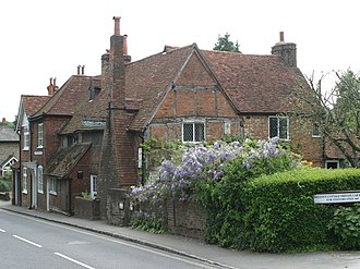 Chalfont St Giles - Milton's Cottage, at 1 Deanway, Chalfont St Giles