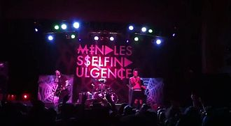 Mindless Self Indulgence - Mindless Self Indulgence onstage in 2012