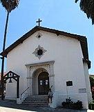 Missão San Rafael Arcanjo, San Rafael CA EUA -O reconstruída Capilla (capela) na missão San Rafael Arcángel - panoramio (cropped) .jpg