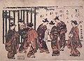Mitate (Parody) of Seven Sages of the Bamboo Grove-by Suzuki Harunobu-Tokyo National Museum.jpg