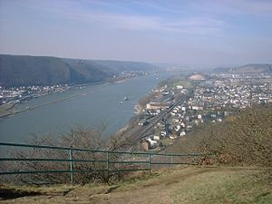 Rheinbrohl - Image: Mittelrhein Rheinbrohl