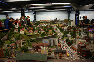 Rail transport modelling - The Miniatur Wunderland in Hamburg, Germany is the second largest model railway in the world by the amount of track. It is second only to Northlandz In Flemington, New Jersey