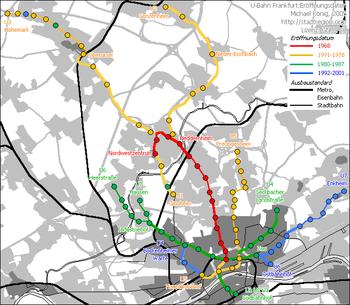 Mk Frankfurt U-Bahn Daten