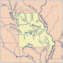 Survey geographic names information system platte river missouri river
