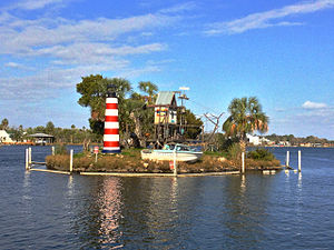 Homosassa River - Monkey Island
