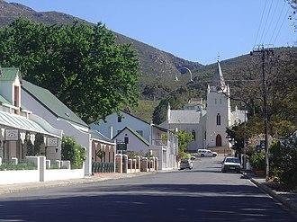 Montagu, Western Cape - Street in Montagu