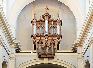 Montauban Cathedral - Image: Montauban Cathédrale orgue