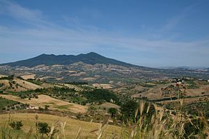 Basilicata - A view of the Vulture region