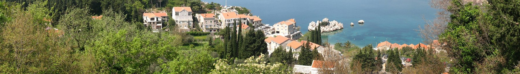 Seaside houses in Montenegro