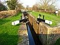 Montgomery Canal, Burgedin lock. - geograph.org.uk - 860583.jpg
