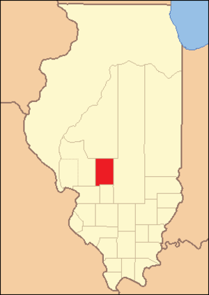 Montgomery County, Illinois - Image: Montgomery County Illinois 1821