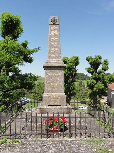 Montigny (M-et-M) monument aux morts