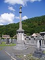 Monument in Machynlleth Cemetery - geograph.org.uk - 522054.jpg