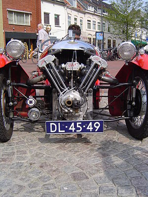 JA Prestwich Industries - 1934 Morgan Super Sport with JAP engine