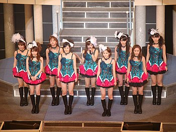 Morning Musume is the longest running female idol group that holds