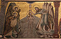 Mosaici del battistero di firenze, storie del battista, 1250-1330 ca., 07 battesimo di cristo, attr. a cimabue.JPG