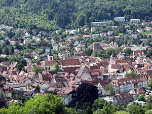 Mosbach - Image: Mosbach Merianblick 3