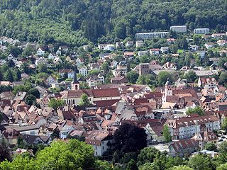 Mosbach Place in Baden-Württemberg, Germany