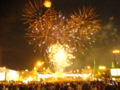 Moscow, Day of the Town 2006, Fireworks over the Great Stone Bridge.jpg