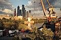 Moscow, view from Shelepikhinsky Bridge (21255672951).jpg