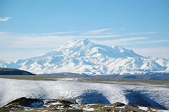 Extremes on Earth - Image: Mount Elbrus May 2008