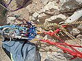 Mountain climbing equipment in Mirabad - Nishapur 01.JPG