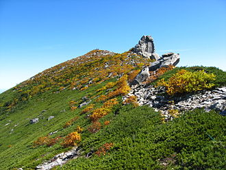 Mount Kinpu - Mount Kinpu (Oct. 2007)