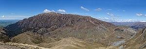 Mt Somers din Mt Winterslow, Parcul de conservare Hakatere din Canterbury, Noua Zeelandă.jpg