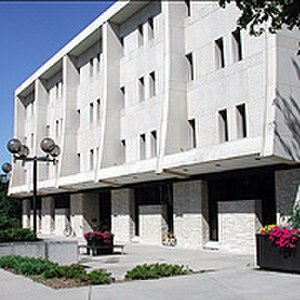 Lawrence University - Seeley G. Mudd Library. The library contains over 420,000 volumes.