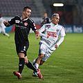 Muhamed Demiri (L), Nicolas Marin (R) - Lausanne Sport vs. FC Thun - 22.10.2011.jpg