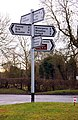 Multi-armed signpost in Worminghall - geograph.org.uk - 1716140.jpg