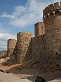 Muralla oest del castell d'Onda.JPG